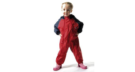 Bush Baby Kinderregenanzug rot